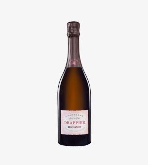 Champagne Drappier Rosé Brut Nature Zero Dosage